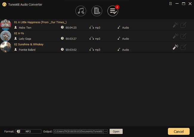 convert audios