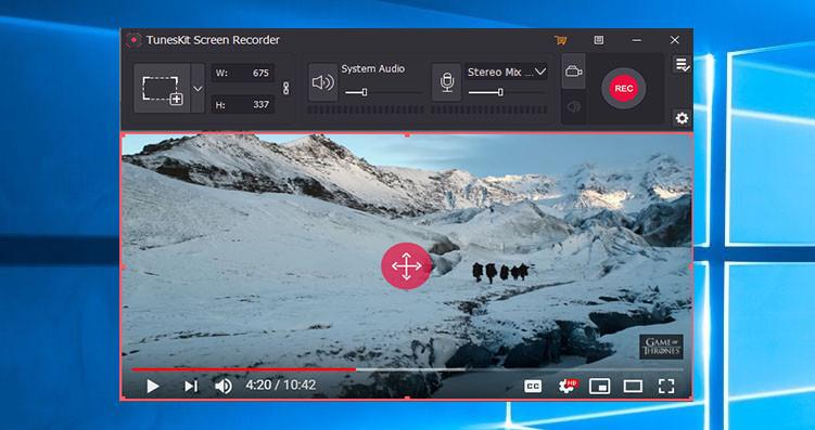 TunesKit Screen Recorder 1.1.0 Mac 破解版 屏幕录制软件