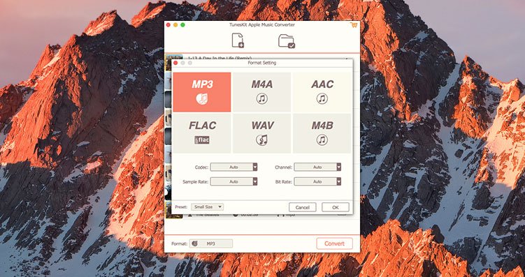 TunesKit Audio Converter Mac 破解版 实用的音频DRM保护移除工具-麦氪搜(iMacso.com)