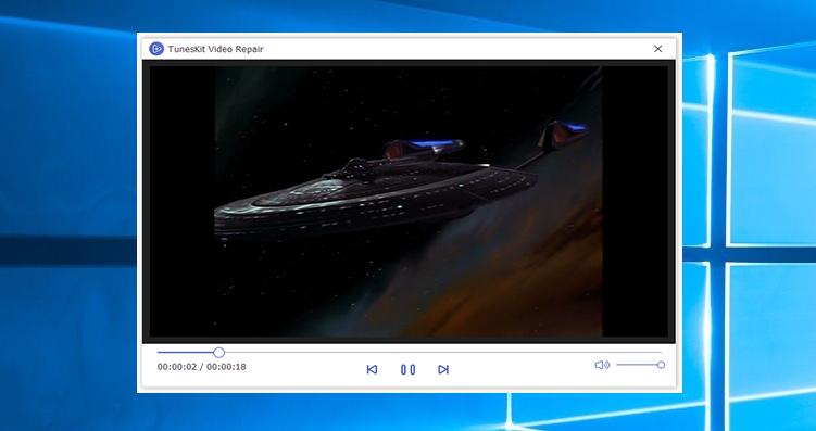 TunesKit Video Repair 1.0.0.7 Mac 破解版 视频文件修复工具