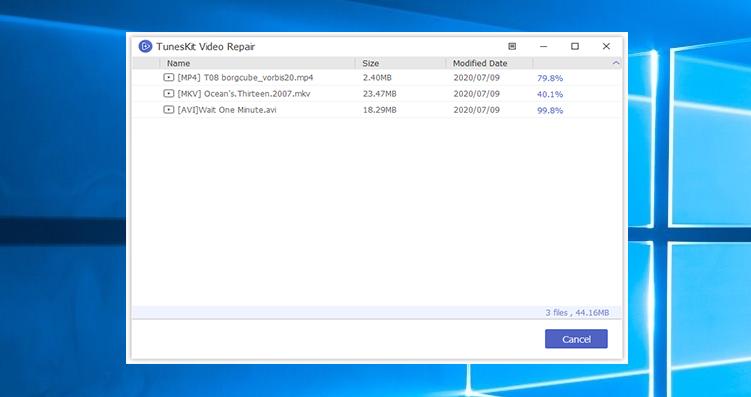TunesKit Video Repair 1.1.0 Mac 破解版 视频文件修复工具
