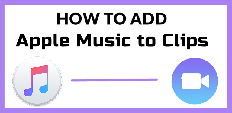 add apple music to clips