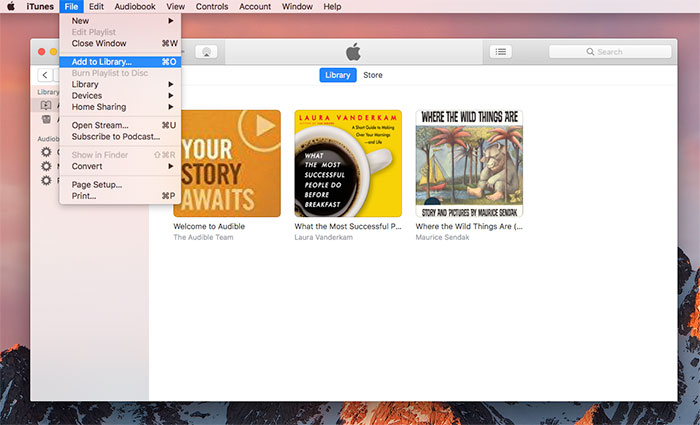Download audible on mac