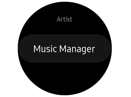 add music to galaxy watch