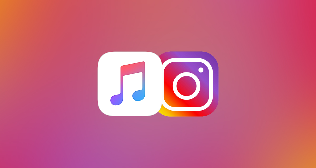 Apple Music and Instagram logo