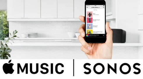 How to add apple music account to sonos