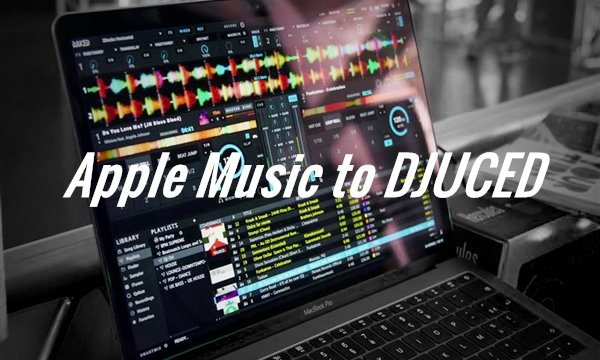 add apple music to djuced