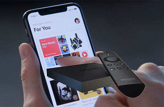 apple music to fire TV