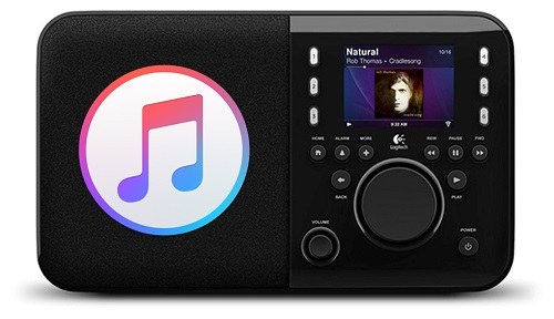 play apple music on squeezebox