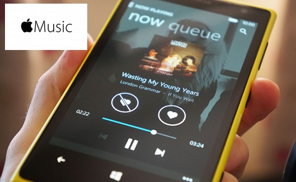 apple music windows phone