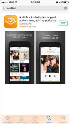 audible app for ios