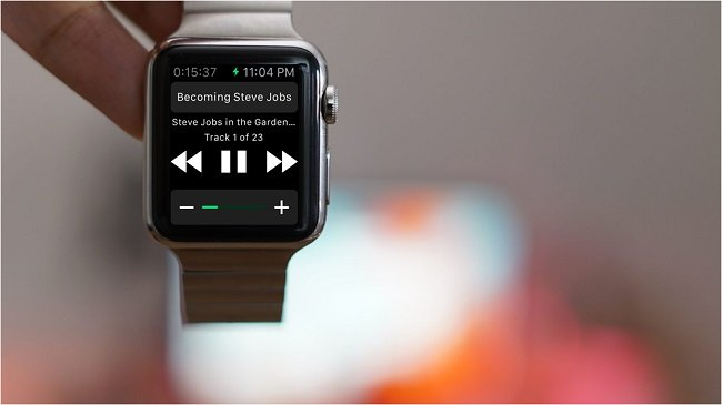 play audiobooks from apple watch