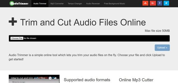 mp3 audio trimmer freeware