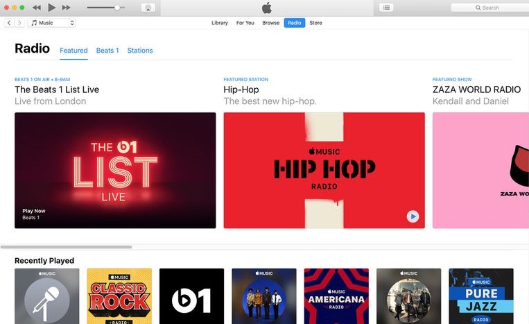 apple music beats 1 itunes