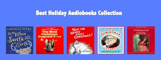 best christmas audiobooks