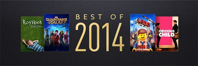 best itunes movies of 2014