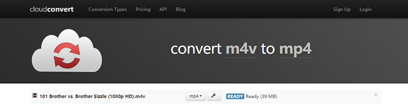 convert m4v to mp4 online free