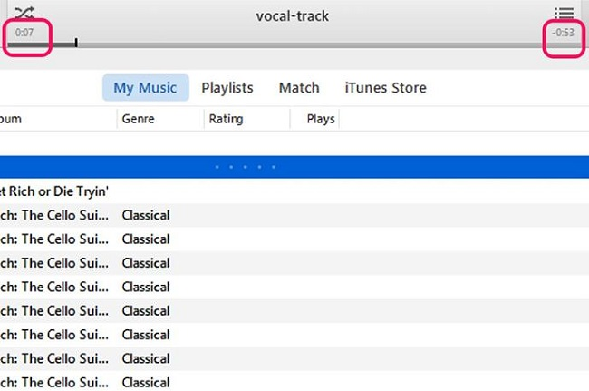 Itunes check mark