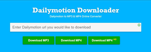 online dailymotion audio recorder