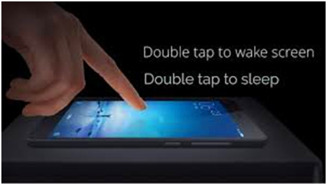 double tap iphone