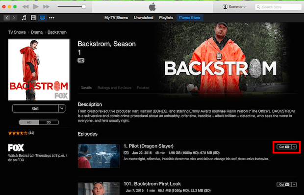 download free itunes tv shows