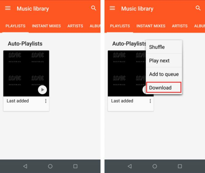 download music from google play