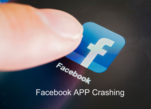 facebook keeps crashing