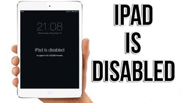 fix diabled ipad