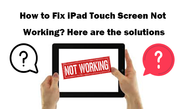 fix ipad touch screen