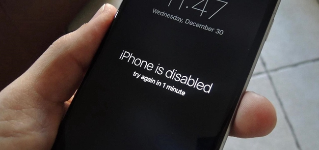 iphone locked