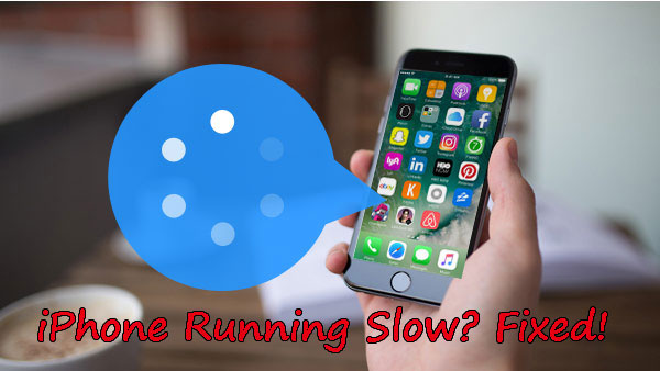 iphone running slow fix