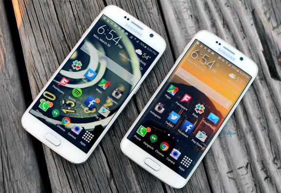 Samsung Galaxy S6, S6 edge