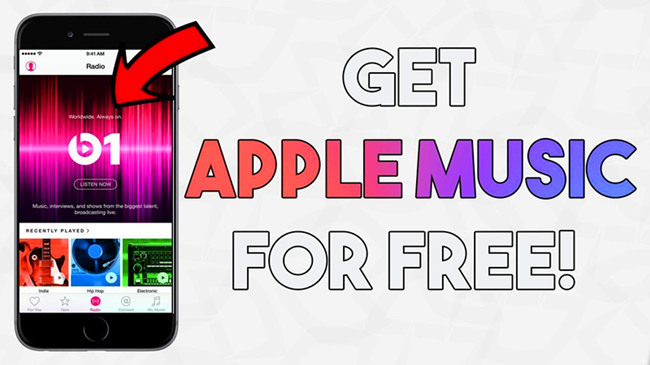 get apple music for free
