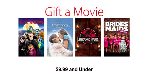 gift itunes movies, tv shows, audiobooks