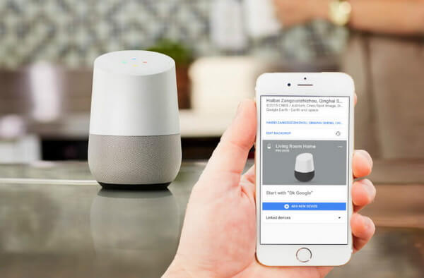 google home bluetooth connection