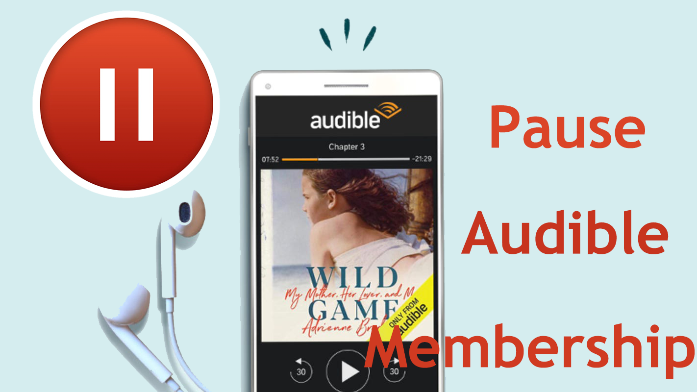 how to pause audible membership