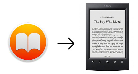 convert ibooks to read on sony ereader