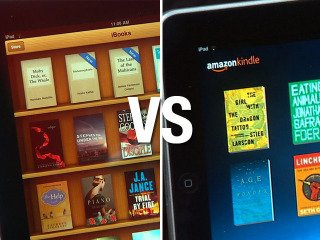 iBooks vs  Kindle: What's the Difference