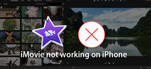 imovie not working on iphone
