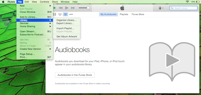 add drm audiobooks to itunes