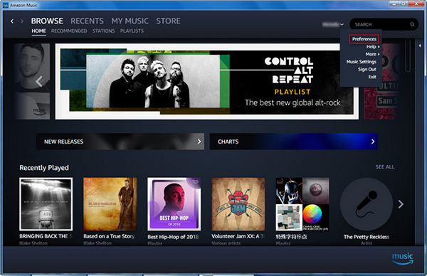 import files to amazon music