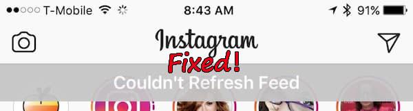 Instagram Feed Not Updating