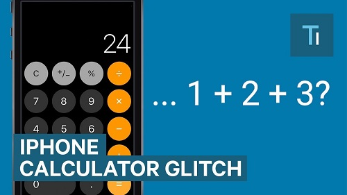 iphone calculator errors bugs