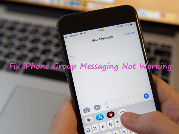 iphone group messaging not working