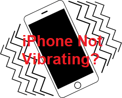 iphone not vibrating