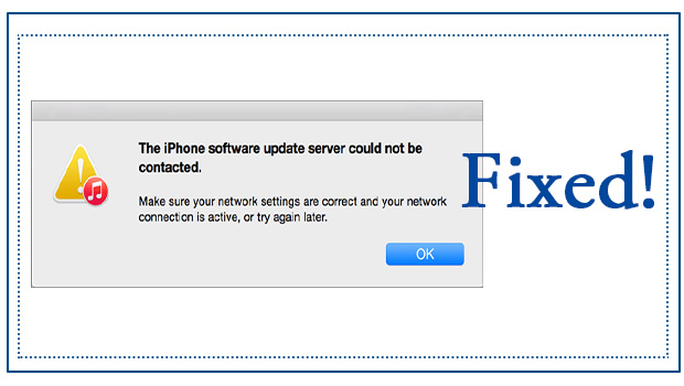 iphone software update error
