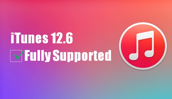 itunes 12.6 fully support