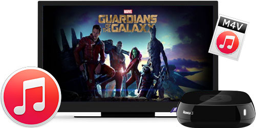 stream itunes movie to roku