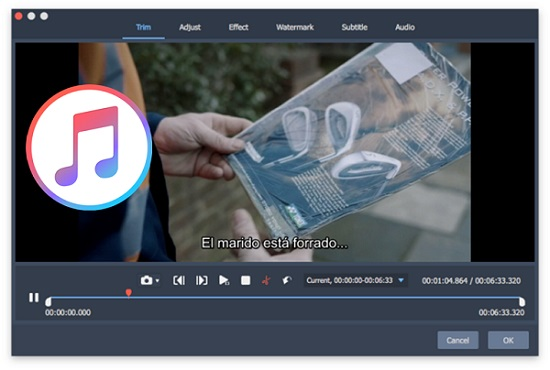 How to Edit DRM-ed iTunes M4V Movies Easily