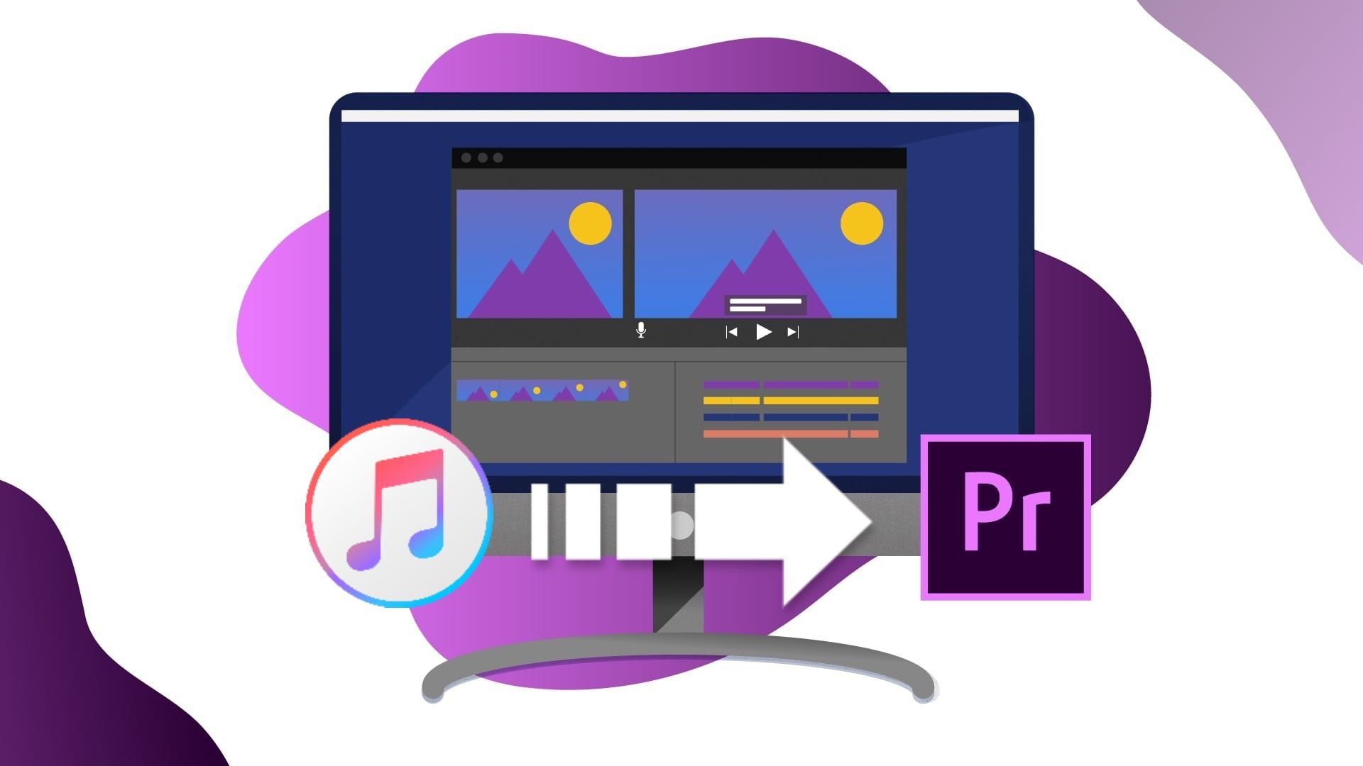 itunes music to premiere pro